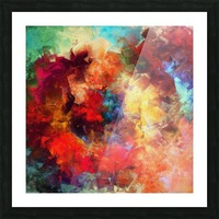 Whirling of Roses Picture Frame print