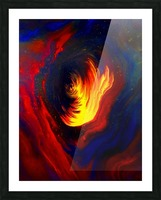Cosmic Heat  Picture Frame print