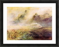 Rough Seas with wreckage by Joseph Mallord Turner Picture Frame print
