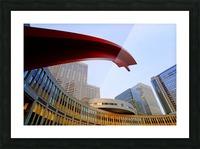 Tokyo Metropolitan Area Picture Frame print