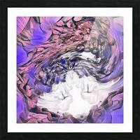 Color cloud Picture Frame print