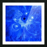 Eye and Stars Picture Frame print