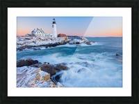 Beacon Dawn Picture Frame print