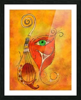 Masquerevue - beauty behind the instrumental mask Picture Frame print