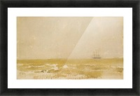 Seascape with Schooner by Whistler Picture Frame print