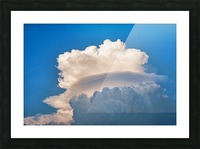 Atomic Cloud Picture Frame print