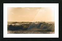 High seas and Light house Picture Frame print