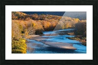 Cheticamp river Cape Breton highland national park Picture Frame print