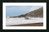 Fall storm Cabot trail. Picture Frame print
