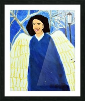 Angel. Kelly R Picture Frame print