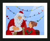 Christmas Eve. David K Picture Frame print