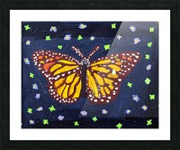Mariposa. Maggie Z Picture Frame print