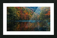 Wards rock pool Margaree river Picture Frame print