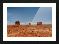 Monument Valley Impression et Cadre photo