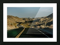 Joshua Tree Road Impression et Cadre photo