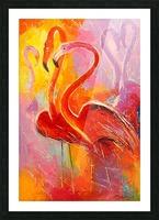 Flamingo Picture Frame print