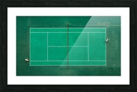 Game Set Match Picture Frame print