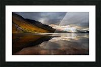 Breakthrough Picture Frame print