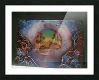 Fantasy World Picture Frame print