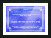 Psalm 23 2BL Picture Frame print