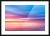 Abstract Sunset V Picture Frame print