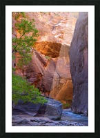 The Narrows Picture Frame print