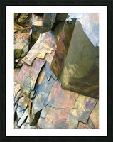 Colorful Slate Picture Frame print