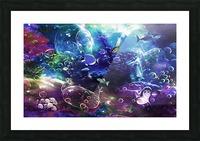Deep sea 1 Picture Frame print