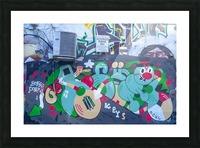 Torontos Graffiti Alley 32 Picture Frame print