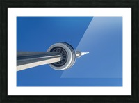 CN Tower 3 Picture Frame print
