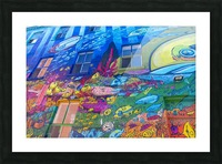Torontos Graffiti Alley  16 Picture Frame print