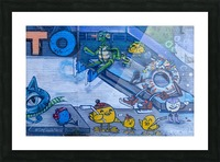 Torontos Graffiti Alley  53 Picture Frame print