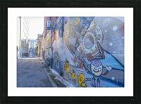 Torontos Graffiti Alley 50 Picture Frame print