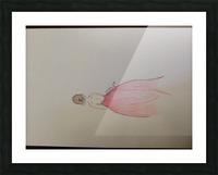 Chiffron Picture Frame print