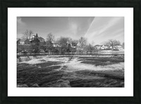 Almonte Spring 4 b&w Picture Frame print