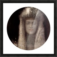 Silence by Odilon Redon Picture Frame print