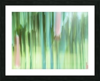 Moving Trees 04 Landscape 52-70 Picture Frame print