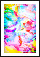 VIVID Abstraction I Picture Frame print