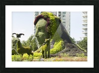 Mother Earth The Legend of Aataentsic with some of her creatures 4 Picture Frame print