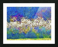 Grasses On Fire Picture Frame print