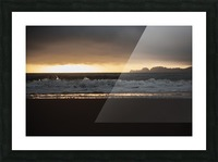 San Francisco Sunset Picture Frame print