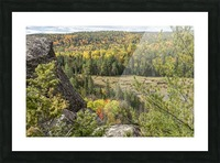 Eagles Nest Lookout 4 Picture Frame print