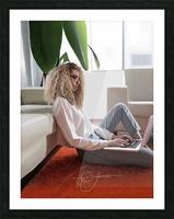 college dorm Picture Frame print