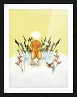 Sun Goddess Picture Frame print