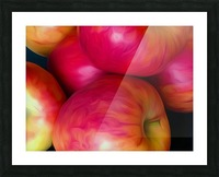 A Slice Of Apples Picture Frame print