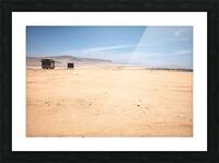Reserva Nacional de Paracas Impression et Cadre photo