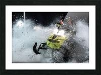 Chez nous c'est Ski-doo  Impression et Cadre photo