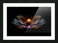 Treasure Of Night Fractal Art Picture Frame print