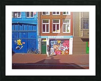 Graffiti Walls Picture Frame print