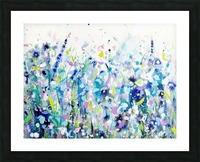 Ultramarine Meadow Picture Frame print
